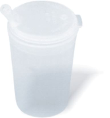 Picture of Tall Feeder Beaker - Handle & Narrow Spout Lid