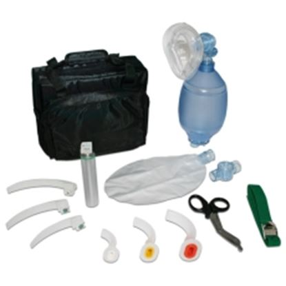 Picture of Disposable PVC Resuscitation kit with accessories