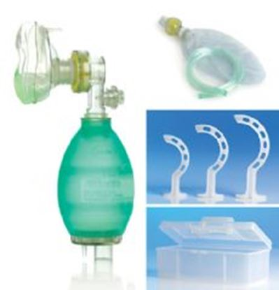 Picture of Reusable PVC Resuscitation kit with accessories