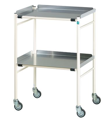 Picture of Halifax Surgical Trolley With Alluminium Shelves (630X470mm)