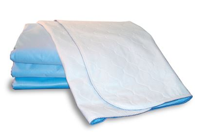 Picture of Sonoma Bed Pads With Tuck-in Flaps - White