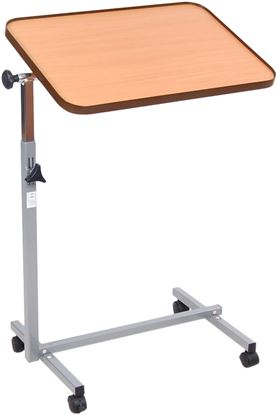 Picture of Height Adjustable Overbed Table with Castors