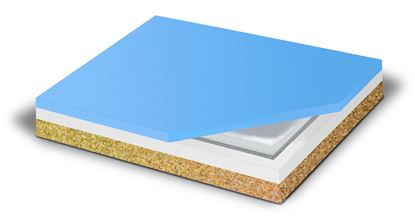 Picture of Bariatric 3 layer foam cushion with gel insert