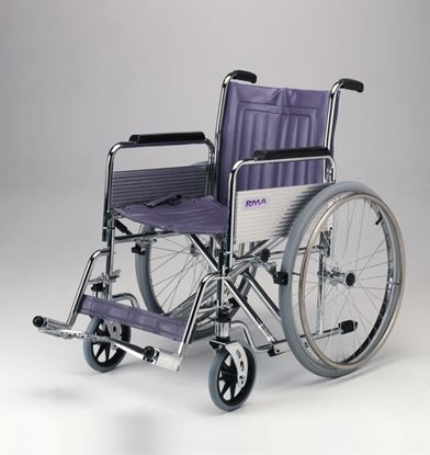 """Picture of Bariatric Wheelchair det.arms swing away F/rests 51cm(20"""")"""