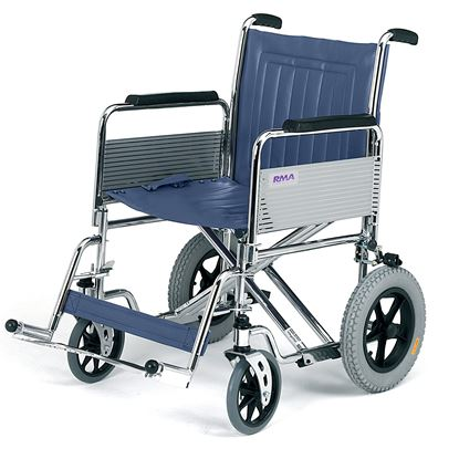 "Picture of Bariatric Transit wheelchair det.arms - 51cm (20"")"