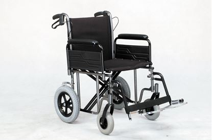 """Picture of Bariatric Transit wheelchair det.arms - 51cm (20"""")"""