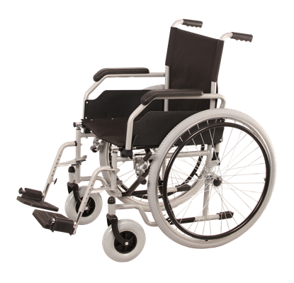 Picture of IOTA Steel Self Propel Wheel- Chair with footrests