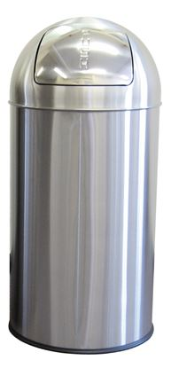 Picture of 50L Push Bin SS Matt finish