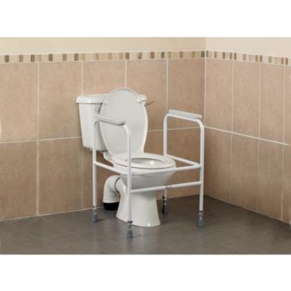 Picture of Adjustable Height Toilet Surround