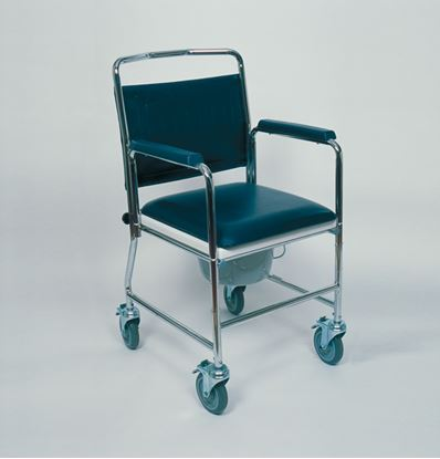 Picture of Mobile Commode Chair