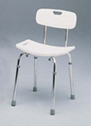Picture of Deluxe Shower Stool with Backrest