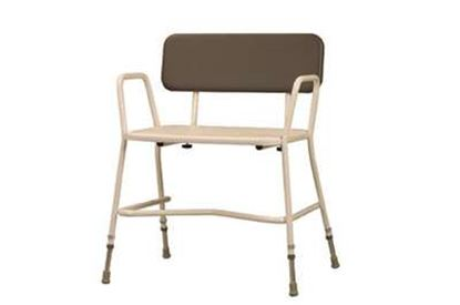 Picture of Extra Wide Shower Chair with Detachable Back