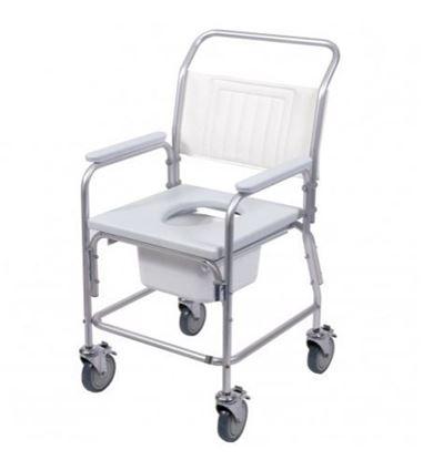 Picture of Aluminium Commode & Shower Chair