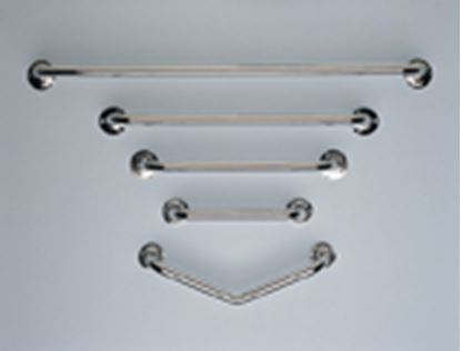 "Picture of Chrome plated steel grab rail (24"")"