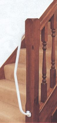 Picture of Newel Rail - Right Handed