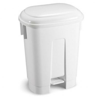 Picture of 60L Stylish design pedal bin - White
