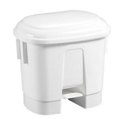Picture of 30L Stylish design pedal bin - White