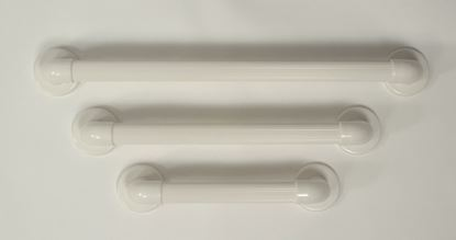 """Picture of Plastic Fluted grab rail 12"""""""