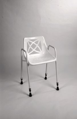 Picture of Adjustable Height Stationary Shower Chair