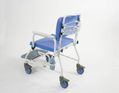 """Picture of Atlantic Bariatric Mobile commode SC with Footrest (20"""")"""