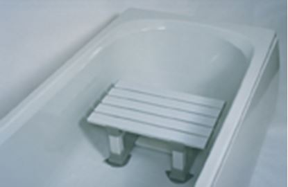"""Picture of Slatted Bath Seat (12"""")"""