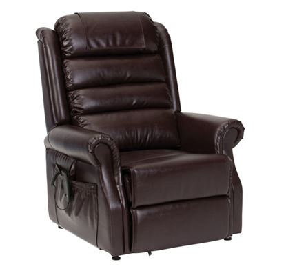Picture of Serena Riser Recliner Waterfall Back - Vinyl