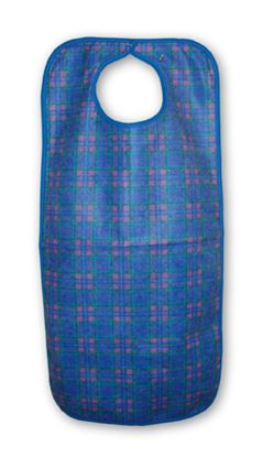Picture of Adult apron 45x90cm snap closure - Blue Stewart