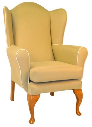Picture of Adhara Wing Chair - Manhatten Fabrics