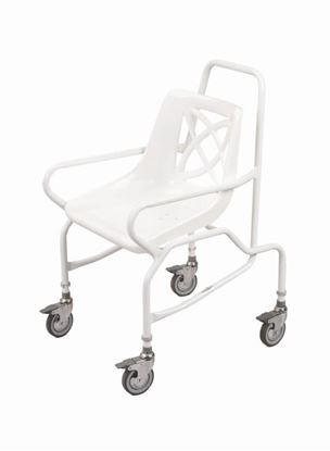 Picture of Andway mobile shower chair with 4 Brake Castors