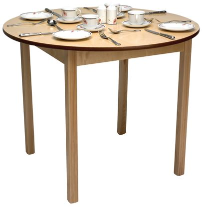 """Picture of Round Top Dining Table, 39"""""""