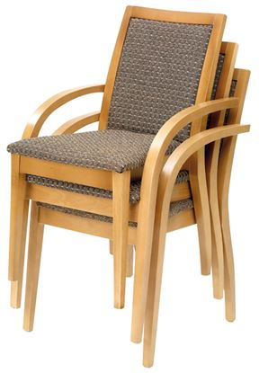 Picture of Yukon Carver Stacker Chair