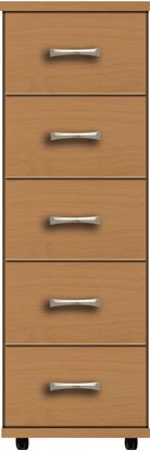 Picture of VIRGO 5 Drawer Narrow Chest
