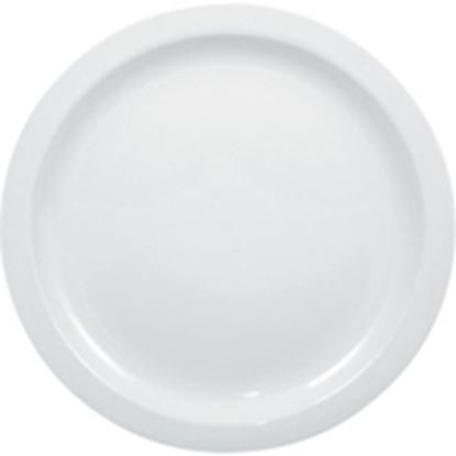 """Picture of Narrow Rimmed Plate 6""""(12)"""