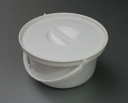 Picture of Commode Bucket and Lid (round)