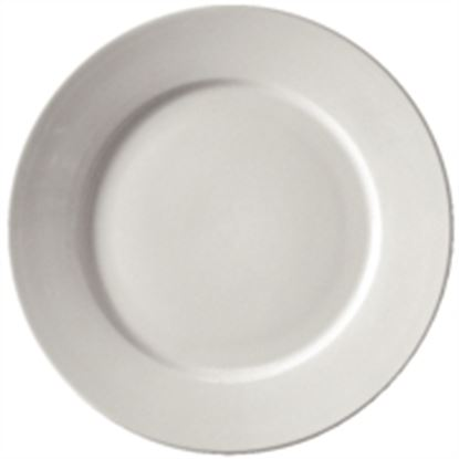 "Picture of Athena 11"" wide rimmed plate (6)"