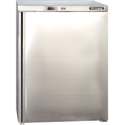 Picture of Undercounter 140Ltr Fridge - Stainless Steel
