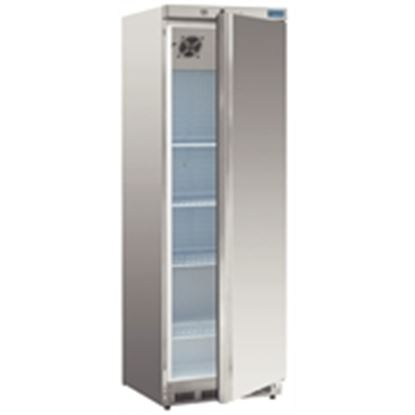Picture of Upright Fridge 400Ltr - Stainless Steel