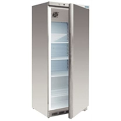 Picture of Upright Fridge 600Ltr - Stainless Steel