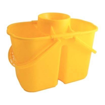 Picture of CC twin mop buckets - Yellow