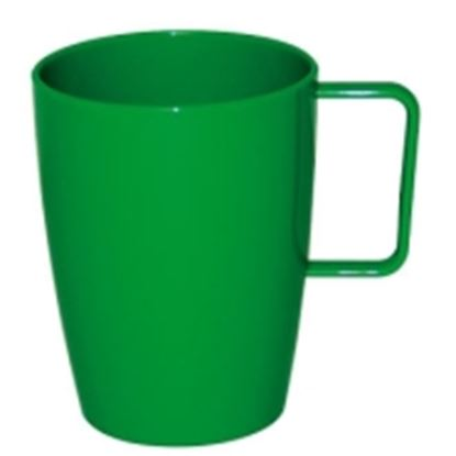 Picture of Polycarbonate Handled Beaker 10oz - Green (12)