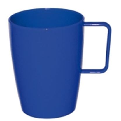 Picture of Polycarbonate Handled Beaker 10oz - Blue (12)