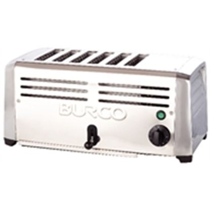 Picture of Burco 6 slot toaster stainless steel