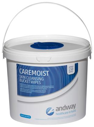 Picture of Caremoist Bucket Wipe 26x30 cm (150)