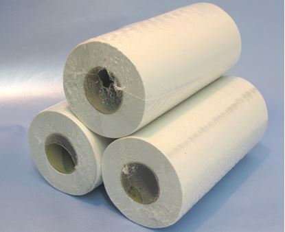 Picture of Hygiene / couch rolls 10Inch x 100 sheets white (18)