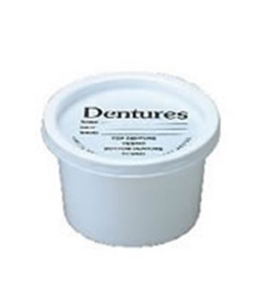 Picture of Disposable Denture Pots with Lids (50)
