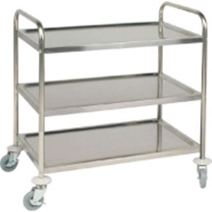 Picture of 3 Tier Stainless Steel Trolley