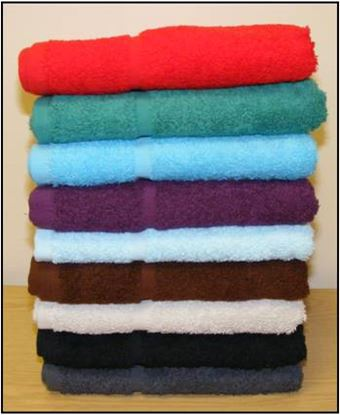 Picture of Face Cloth 500g - Light Blue (12)
