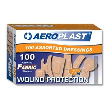 Picture of Assorted Fabric Plasters (100)