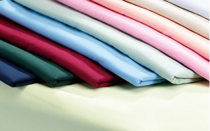 Picture of FR Polyester Flat Sheet - Burgundy