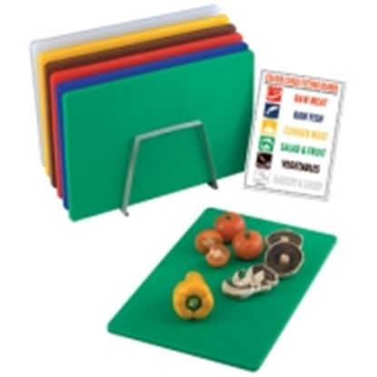 Picture of Hygiplas low density chopping board set